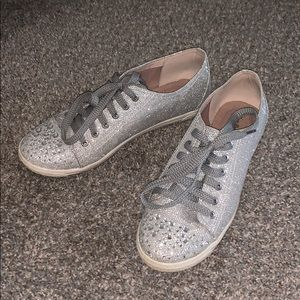 Shoes - Bedazzled converses